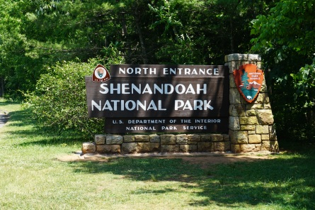 North Entrance to Shenandoah National Park