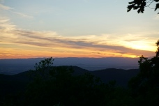 Sunset at Loft Mountain