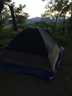 Morning at Loft Mountain Campground