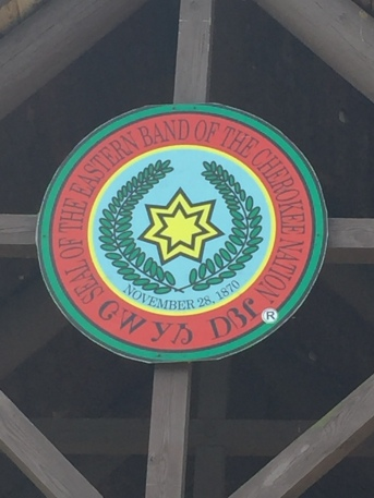 Seal of the Eastern Band of the Cherokee Nation