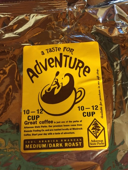 The right kind of coffee for this journey!