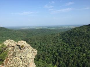 Palisades Overlook, Petit Jean State Park, AR