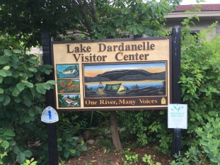Lake Dardanelle State Park, AR and historical site along the Trail of Tears
