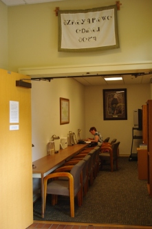 Using the Research Room at Lake Dardanelle