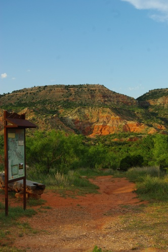 "Palo Duro Canyon is the second largest canyon in America and is nicknamed ""The Grand Canyon of Texas."" The park covers 27,173 acres in the Randall and Armstrong counties. The original parkland was deeded by private owners in 1933 and the park was officially opened July 4, 1934."