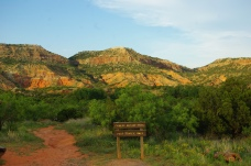 Palo Duro Canyon is 120 miles long and 800 feet deep. The canyon was formed less than 1 million years ago when the Prairie Dog Town Fork of the Red River first carved its way through the Southern High Plains.