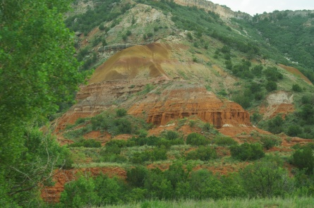 Palo Duro Canyon State Park, just after the storm
