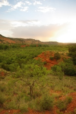 Sunset at Palo Duro Canyon State Park, TX