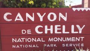 Entrance to Canyon de Chelly