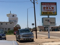 Dels and Kix on Route 66, Tucumcari, NM