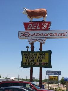 Del's Restaurant, Tucumcari, NM