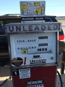 The gas station on Route 66 outside of Tucumcari, NM that saved us from disaster!