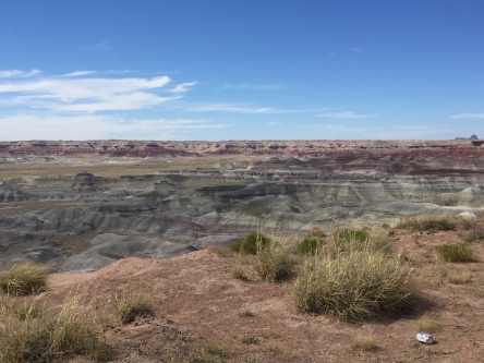 We discovered the Little Painted Desert County Park quite by accident!