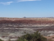 We were traveling Route 87, leaving Canyon de Chelly for Flagstaff on Route 87 and saw this!