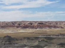 Little Painted Desert Country Park is approx. 20 miles north of Winslow, AZ