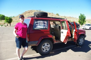 A wonderful jeep and tour guide with Speaking Rock Tours (offered by Spider Rock Campground owner, Howard Smith).