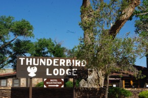 We met Mr. Smith at Thunderbird Lodge for our jeep tour of the canyon.